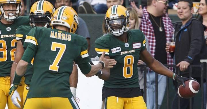 Edmonton Eskimos return to work after bye week