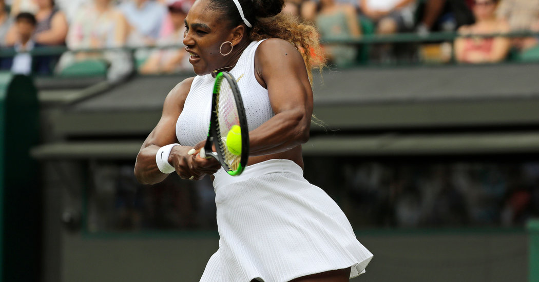 Serena Williams Reminds the Wimbledon Field That She Is Still a Force