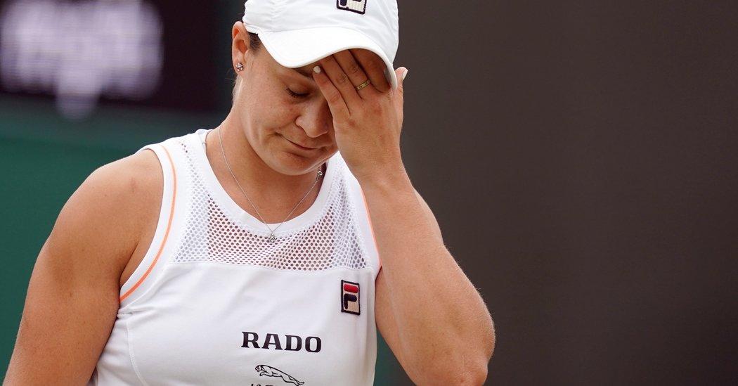 Wimbledon 2019: Alison Riske Upsets No. 1 Ashleigh Barty