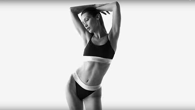 Bella Hadid Dances Around In Calvin Klein Underwear For Sexy New Campaign Days After The Weeknd Split