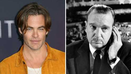 Chris Pine Attached To Play Walter Cronkite In JFK Assassination Drama 'Newsflash'