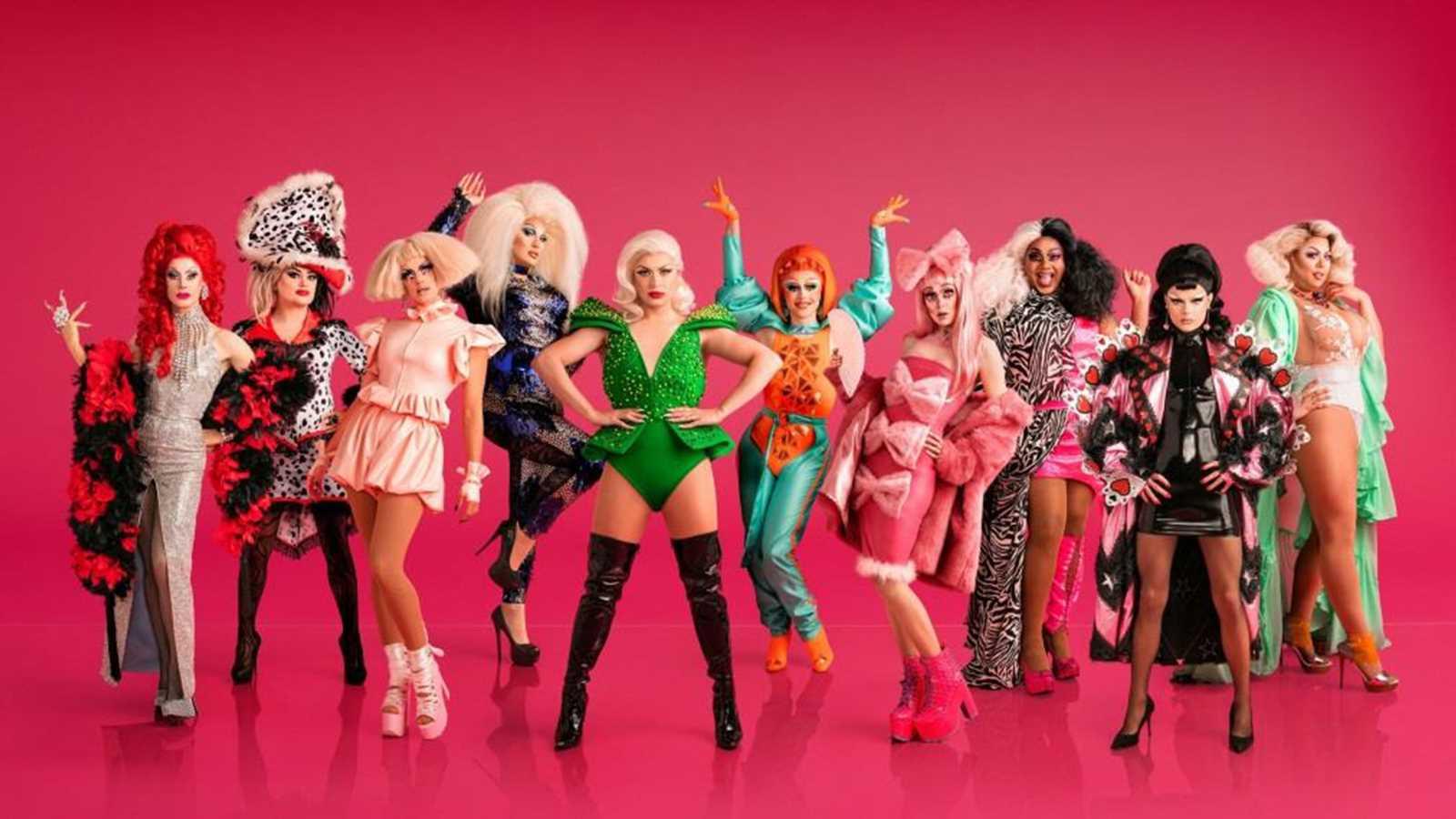 RuPaul's Drag Race UK season 1 cast of queens photos
