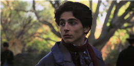 Timothée Chalamet Is the Hottest He's Ever Been in the 'Little Women' Trailer