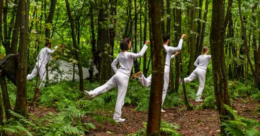 Trisha Brown Dances Animate a Scottish Landscape