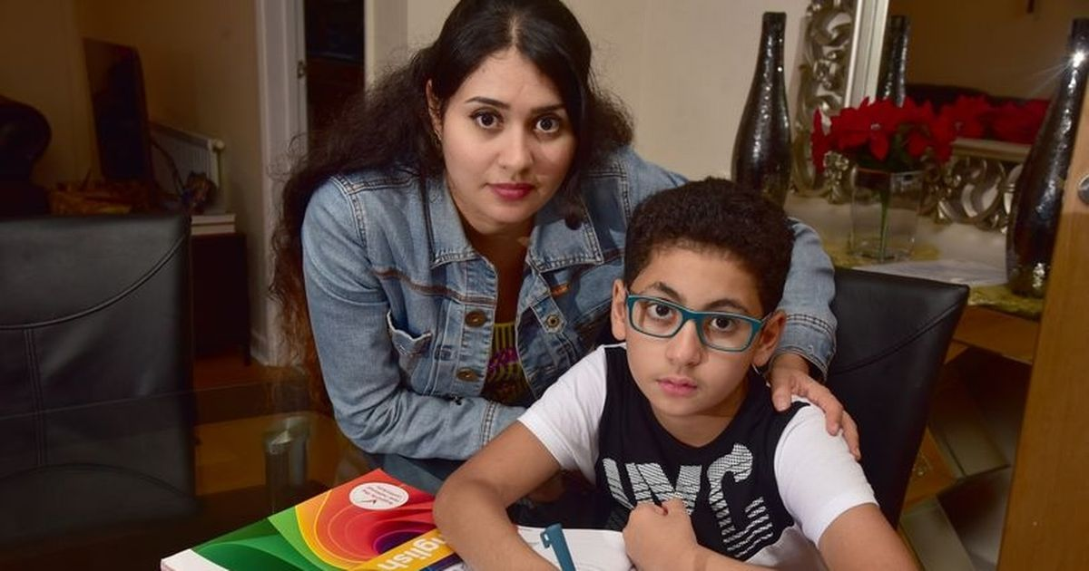 Boy hasn't been to school for two weeks as there are no places close to home