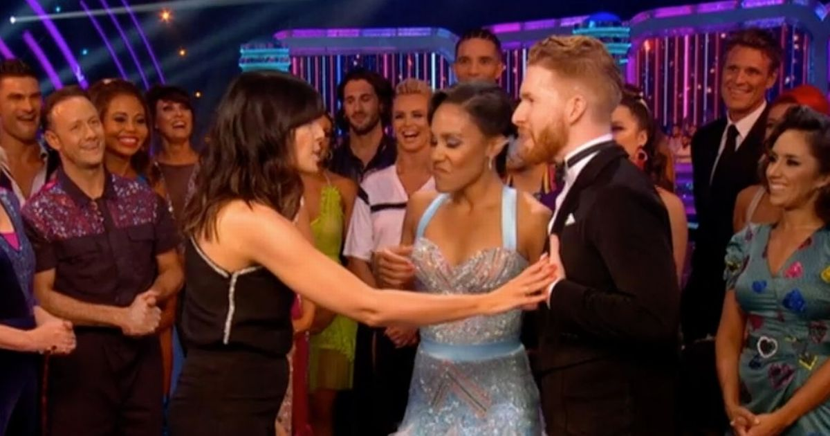 Neil Jones makes awkward dig at Strictly bosses for not getting a celeb partner