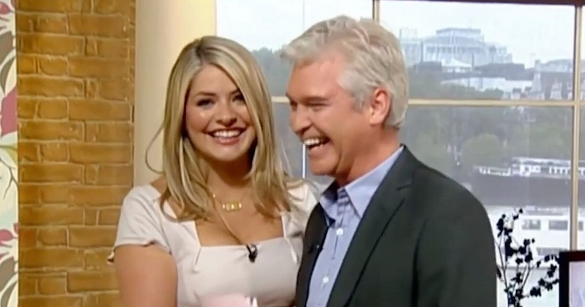 Trick Phillip Schofield played on Holly Willoughby's first This Morning episode