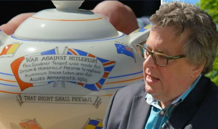 Antiques Roadshow expert ecstatic over museum-featured WWII teapot with 'no great value'