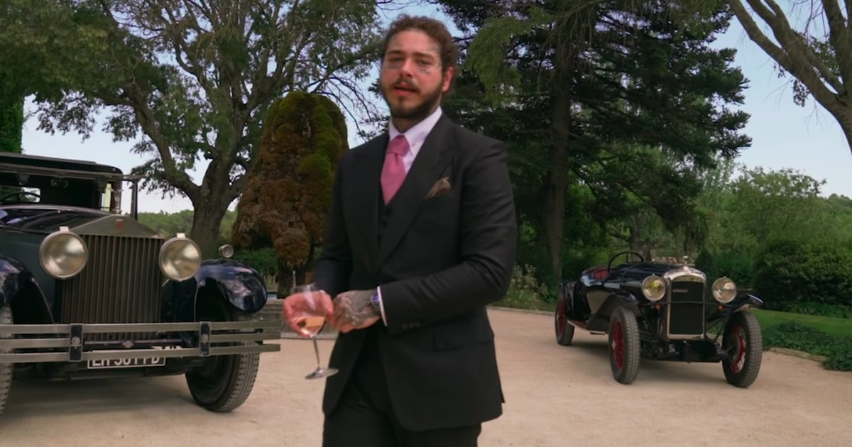 """Post Malone Cleans Up Reaaally Nicely in the """"Saint-Tropez"""" Music Video"""
