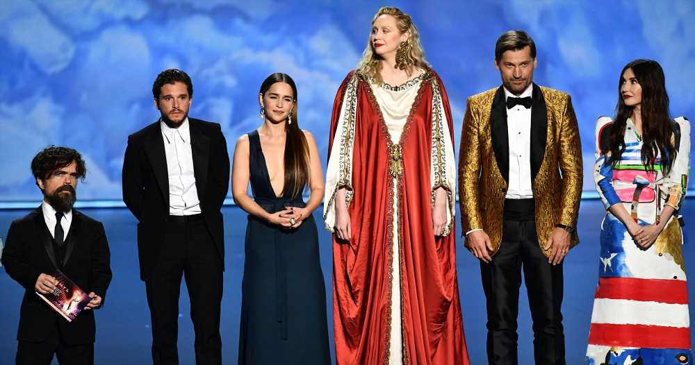 'Game of Thrones' Cast Receives Standing Ovation at Emmys