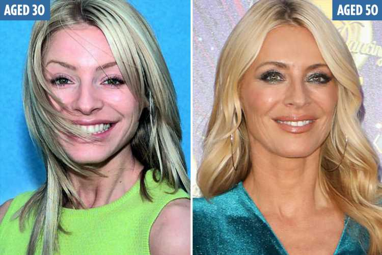 Strictly's Tess Daly, 50, looks incredible as she defies ageing with wrinkle-free face and slim figure