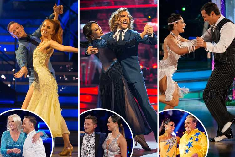 Strictly bosses punish scandalous dancers by pairing them with the worst celebs so they can't win Glitterball trophy in ultimate revenge