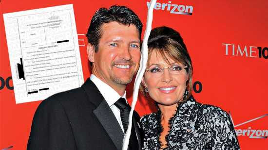 Sarah Palin's Husband Demands Debts & Assets To Be 'Divided Equally'