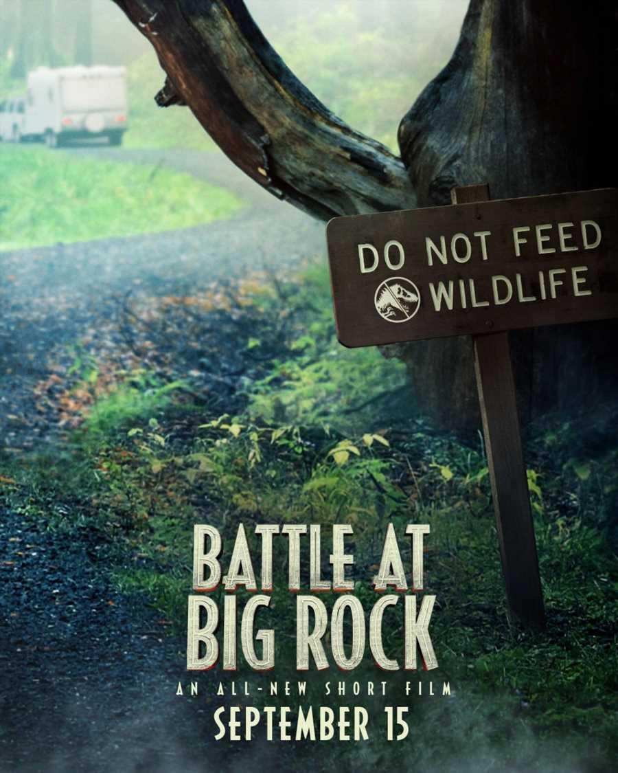 Secret Jurassic World mini-movie Battle at Big Rock to premiere on FX