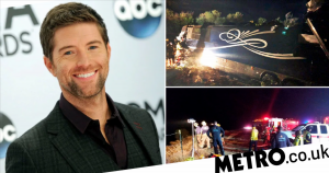 One man killed as country star Josh Turner's tour bus crashes off cliff