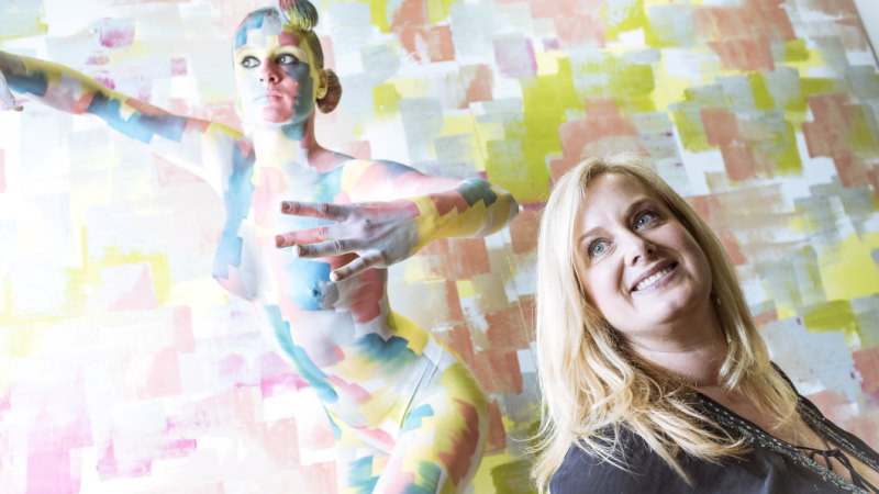 Somebody you might not know: the woman who painted Gotye