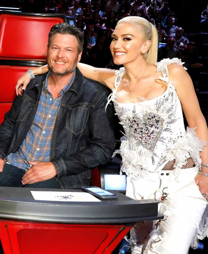 Gwen Stefani Laughs at Blake Shelton Failing to Recognize 'Hollaback Girl': 'He Should've Known!'