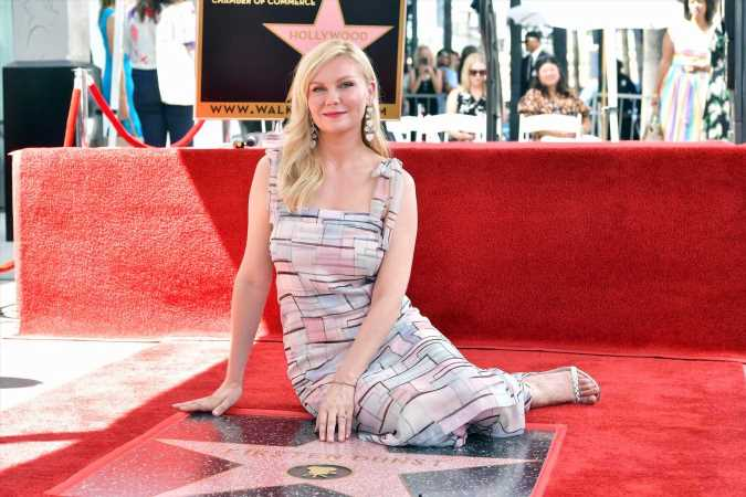 Kirsten Dunst Says She Had 'Anxiety' Before Walk of Fame Honor: 'I Hate Public Speaking'