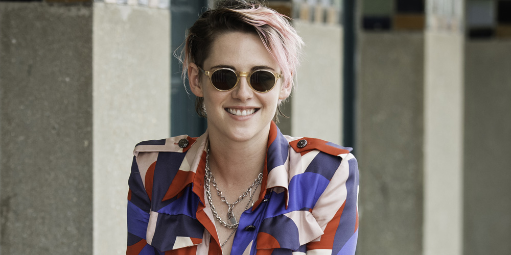 Kristen Stewart Shows Off Pink Hair at Deauville Film Festival