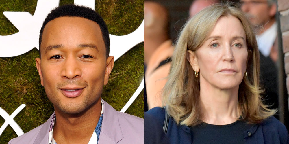 John Legend Has a Message for People Who Think Felicity Huffman's Sentence Was Too Short
