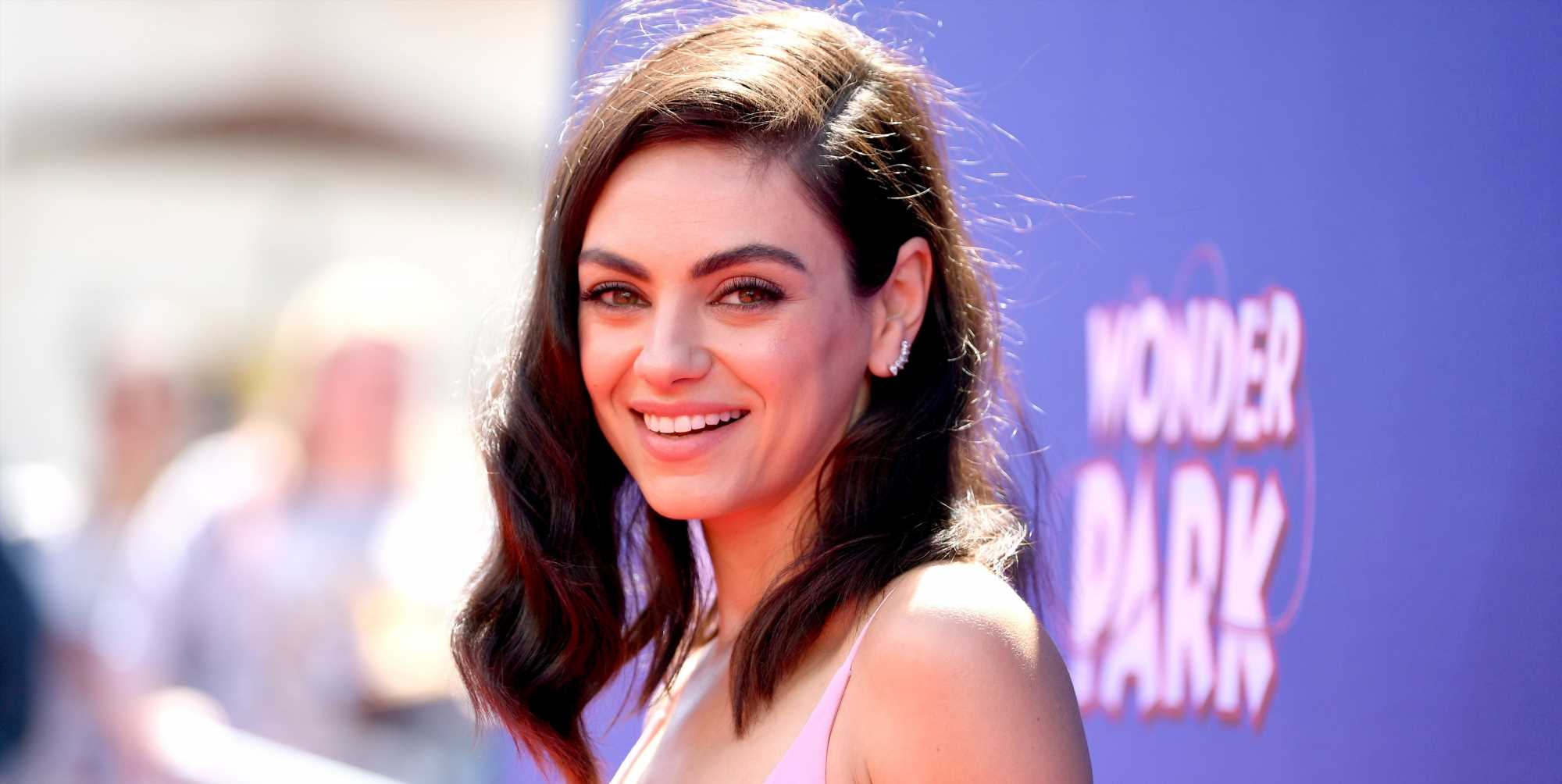 Mila Kunis Just Dyed Her Hair Blonde and Blue and You Won't Even Recognize Her Anymore