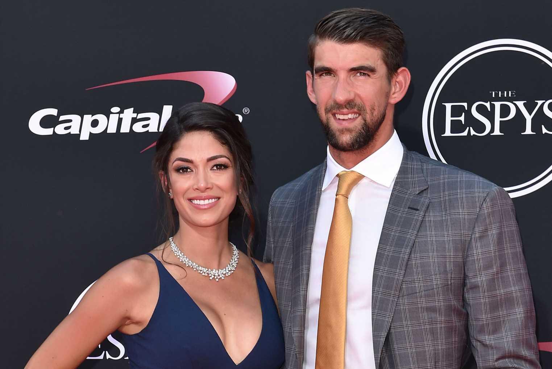 Michael Phelps and wife Nicole welcome son Maverick