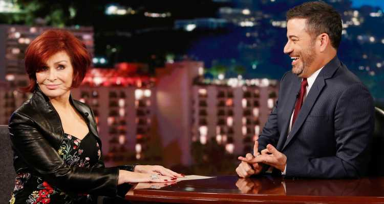 Sharon Osbourne Gives 'Kimmel' Details About Her New Facelift & Update On Ozzy's Health!