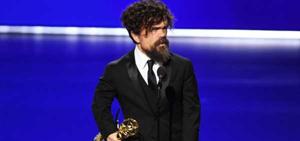 Peter Dinklage Wins Emmy 2019 for 'Game of Thrones'!