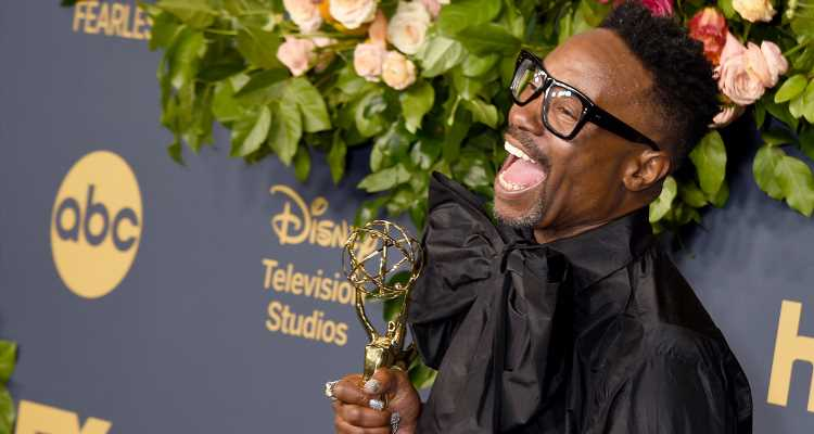 Billy Porter Celebrates History-Making Win at Disney's Emmy Awards After Party 2019!