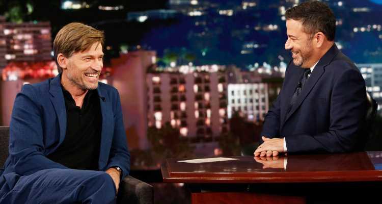 Nikolaj Coster-Waldau Tells Kimmel 'Game of Thrones' Cast Will Reunite at Emmys 2019!