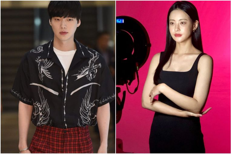 Actress denies talk that she is dating Ku Hye-sun's husband Ahn Jae-hyun