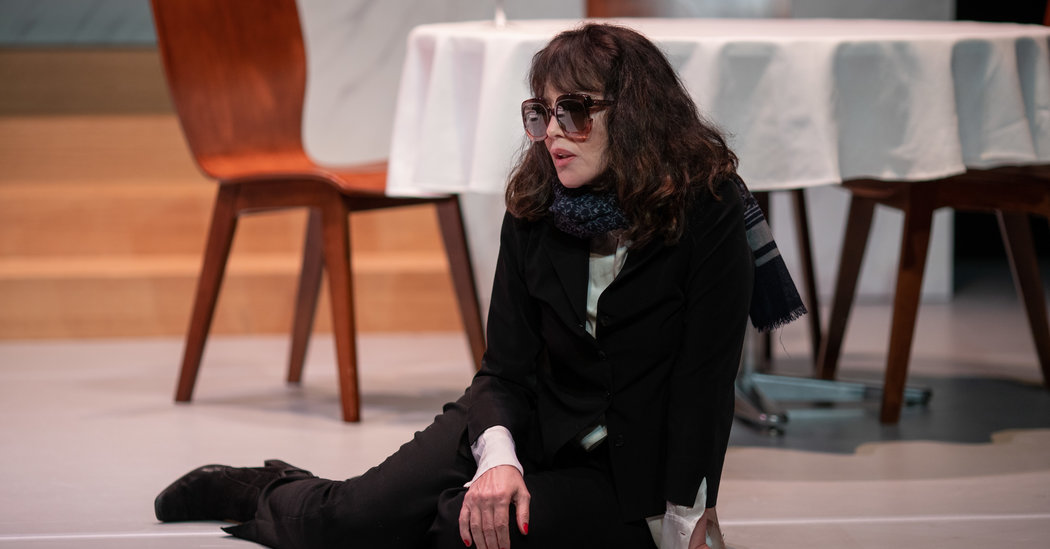 Review: Isabelle Adjani, Raging and Aging in 'Opening Night'
