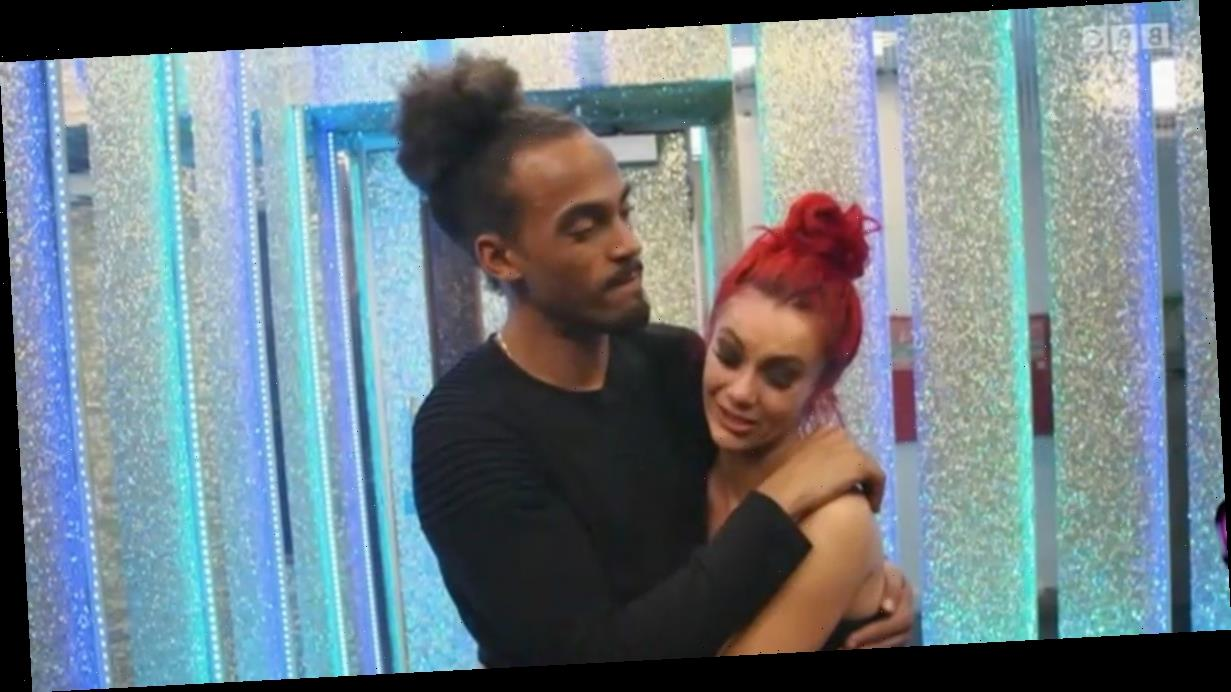 Strictly's Dianne Buswell sobs as she makes confession to Dev after exit