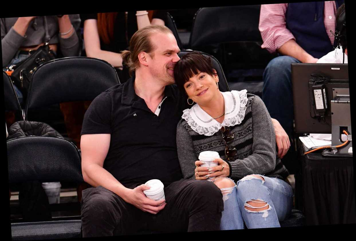 David Harbour And Lily Allen Make Their Romance Instagram Official With Sweet Photo