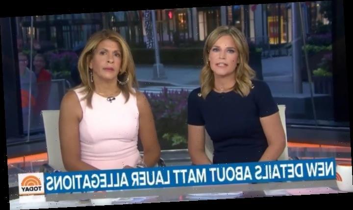 'Today' Hosts Savannah Guthrie, Hoda Kotb Respond to Matt Lauer Sexual Assault Claims