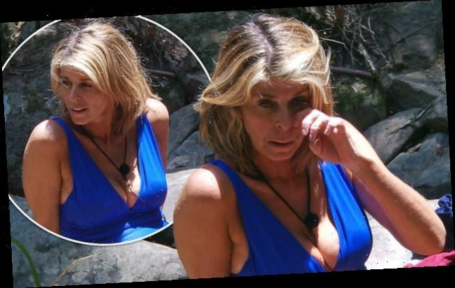 I'm A Celebrity: Kate Garraway looks radiant in blue swimsuit