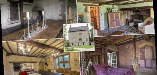 This Grade II listed manor owned by Henry VIII is for sale for £875k