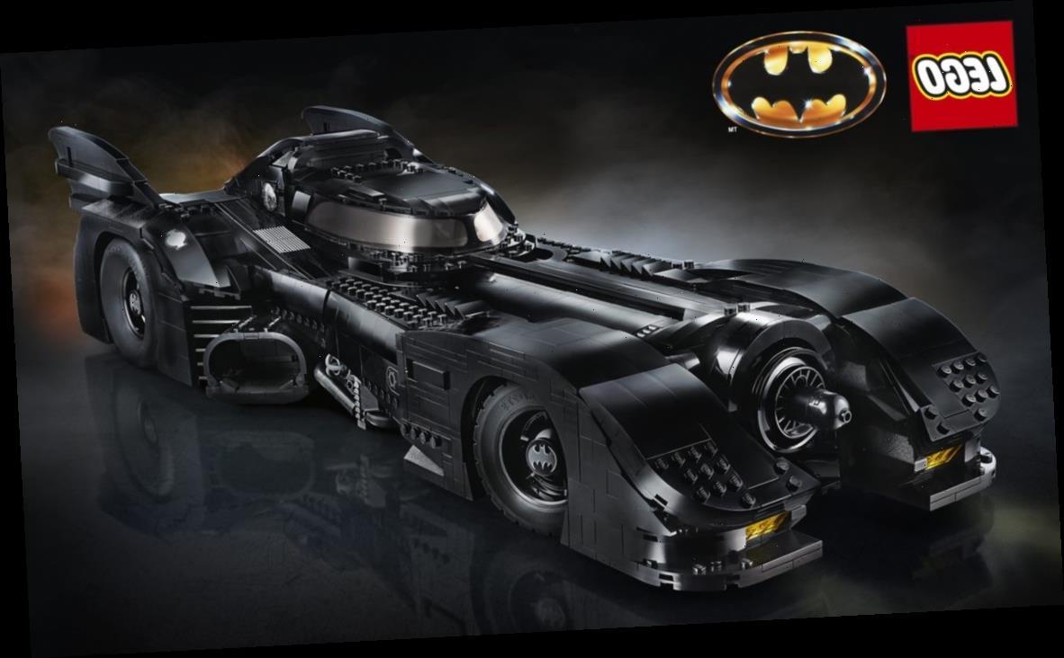 'Batman' is Getting a Big 30th Anniversary LEGO Set of the 1989 Batmobile
