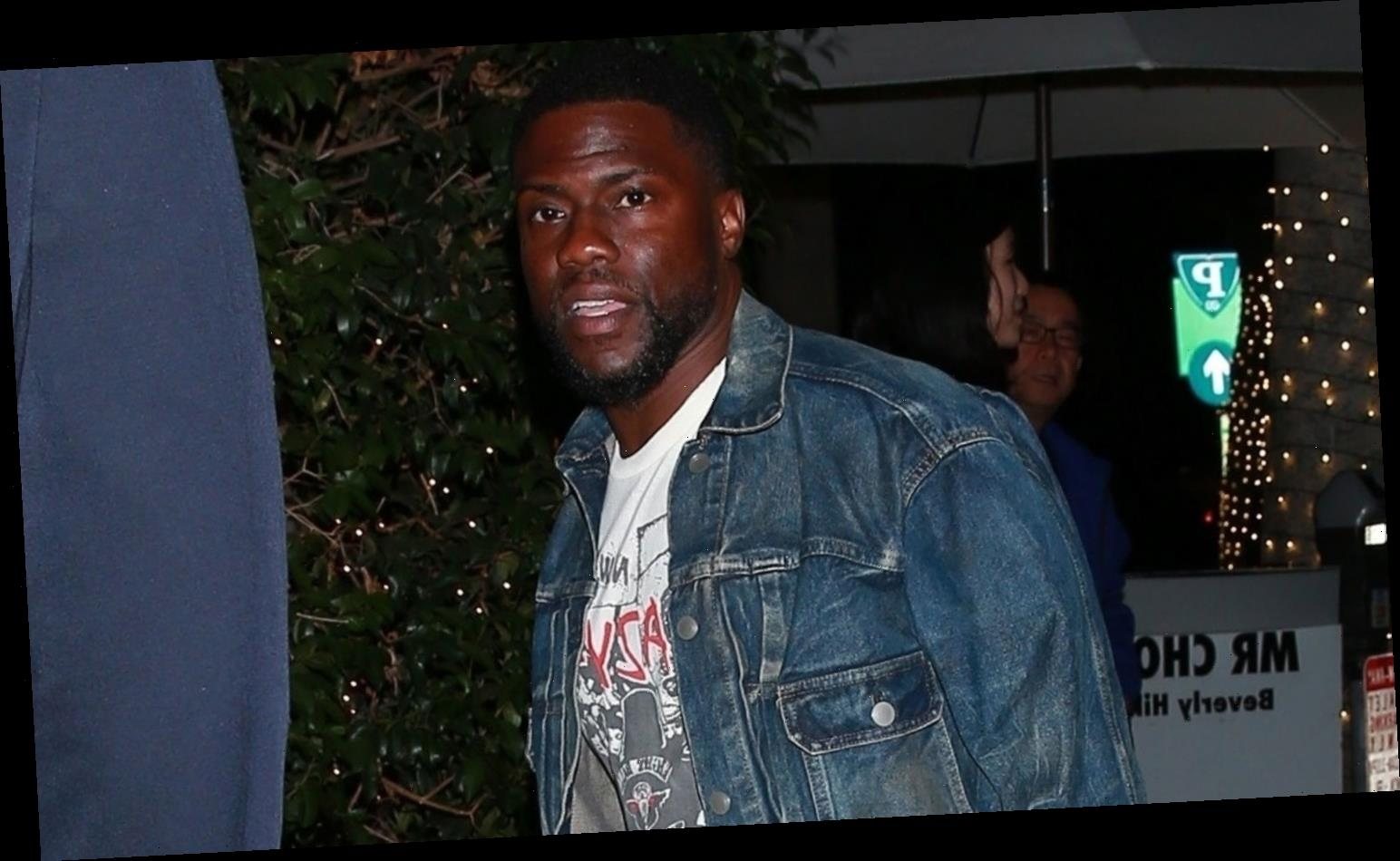 Kevin Hart Makes Rare Appearance, Two Months After Car Accident