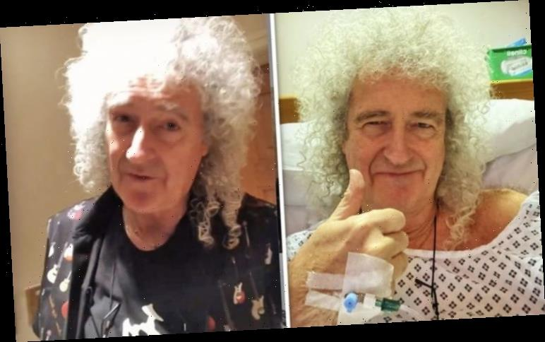 Queen tour UPDATE: Brian May reassures fans after surgery 'We should be fine'