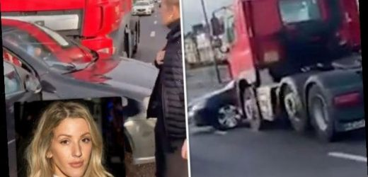 Ellie Goulding addresses involvement in shocking car incident as she slams fellow drivers