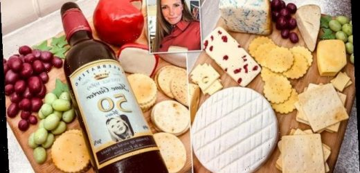 Mum makes a cheeseboard for friend's birthday that's made from CAKE