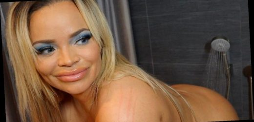 Big Brother's Trisha Paytas poses naked as she films herself in the shower