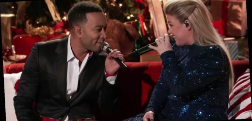 """John Legend and Kelly Clarkson Perform Their Updated Version of """"Baby, It's Cold Outside"""""""