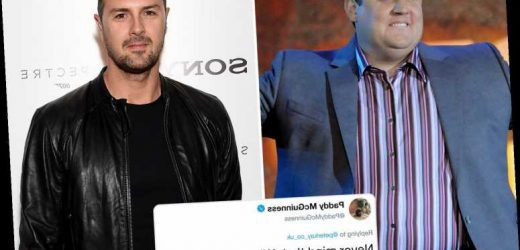 Paddy McGuinness deletes tweet making fun of pal Peter Kay for talking in the third person in rant at Channel 5 – The Sun