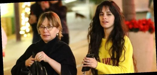 Camila Cabello Goes Christmas Shopping With Her Mom at The Grove