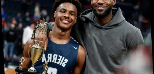 LeBron James' Son Wins Big Against Dad's Alma Mater: 'Meant the World to Me to Be There'