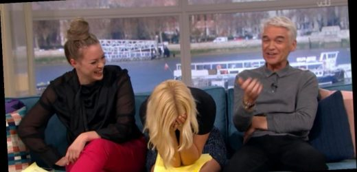 Holly mocked by Phil as she gets Josie Gibson's name wrong on This Morning