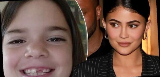 Kylie Jenner shares adorable throwback photo of older sister Kendall missing her front tooth