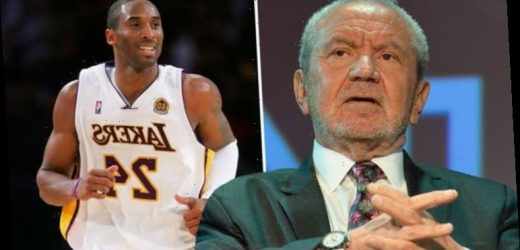 Lord Sugar defiantly hits back after causing a stir with comment about Kobe Bryant's death